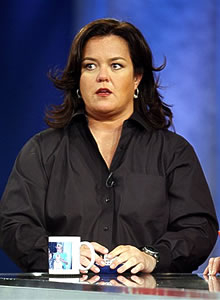 "Rosie O'Donnell tripled the annoyance factor on ""The View."""