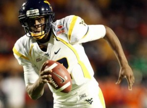 WVU quarterback Geno Smith