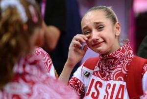 Russia's Viktoria Komova