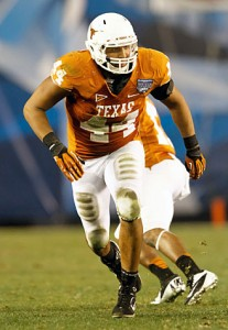 Texas defensive end Jackson Jeffcoat
